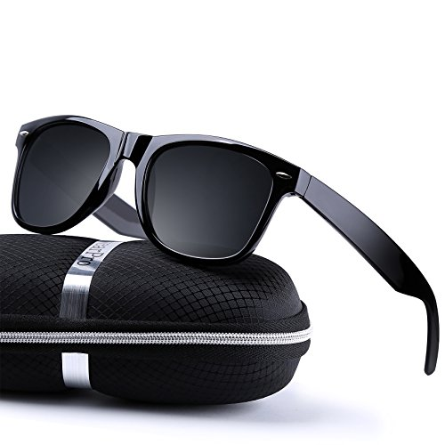 wearPro Wayfarer Sunglasses for Men Women Vintage Polarized Sun Glasses - Polarized Sunglasses Mens