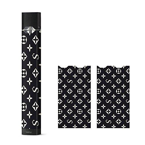Price comparison product image JUUL Decal Sticker Skin Wrap Vinyl for JUUL LV (Louis Vuitton Black / Supreme)