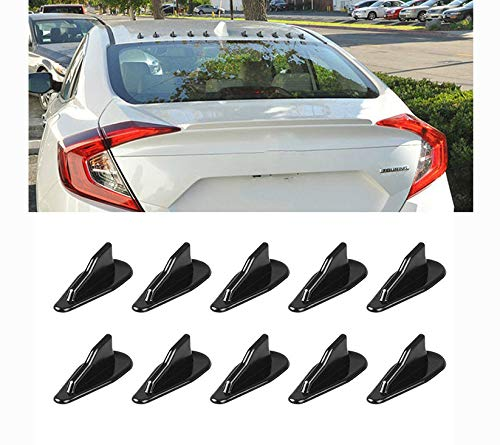 Alpha racing Air Vortex Generator Diffuser Shark Fin 10pcs
