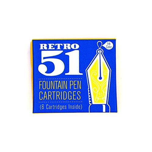 Retro 51 Fountain Refill 6 Pack