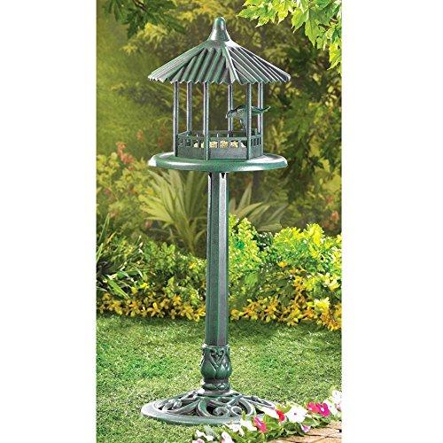 Gallery of Light Inc Gazebo Style Verdigris Bird Feeder
