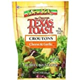 New York, The Original Texas Toast, Cheese & Garlic Croutons, 5oz Bag (Pack of 3)