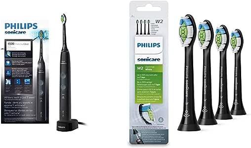 Philips Sonicare - Cepillo de Dientes Eléctrico ProtectiveClean HX6830/44 + Pack con 4 cabezales: Amazon.es: Salud y cuidado personal