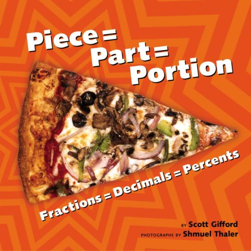 fractions decimals percents with pizza for kids math