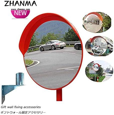 カーブミラー 駐車場のための広角トラフィック凸面鏡広角安全凸曲面ミラーの道 RGJ4-26 (Size : 450mm)