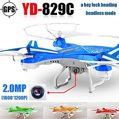 Yd829 Rc Drone with Hd Camera GPS One Key Return 2.4g 4ch 6axis Helicopter Quadrocopter Headless Mode Review