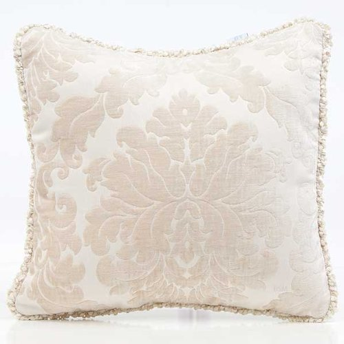 Glenna Jean Victoria Pillow with Cord, Damask