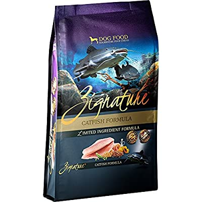 Zignature Catfish Formula Dry Dog Food, 4 lb. bag. Fast Delivery, by Just Jak's Pet Market