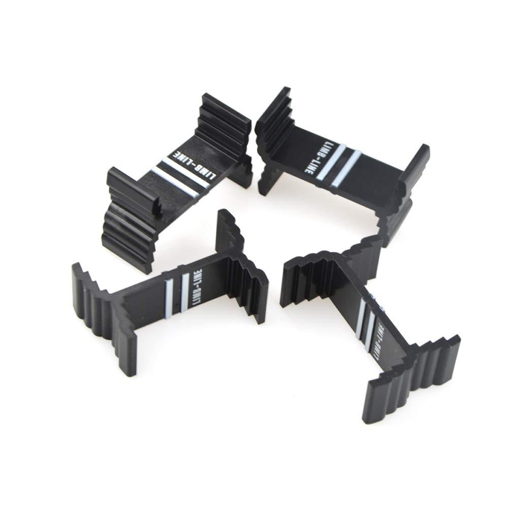 SHARROW Bogenschie/ßen Wurfarmschablone Recurvebogen Gliedma/ßen Messger/äte Bogenglieder Mittellinieneinstellung Schwarz