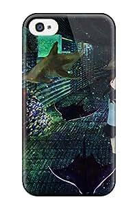 TERRI L COX's Shop Best 8748016K974389084 original animal bubbles fish mogusa shark seifuku Anime Pop Culture Hard Plastic iPhone 4/4s cases