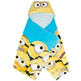 Despicable Me - Mega Minions - Hooded Towel - Yellow/Blue