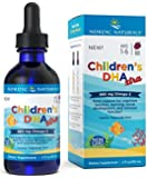 Nordic Naturals Children's DHA Xtra - Berry Flavored Omega-3 Fish Oil Supplement, 2x DHA to EPA Ratio, For Kid's…