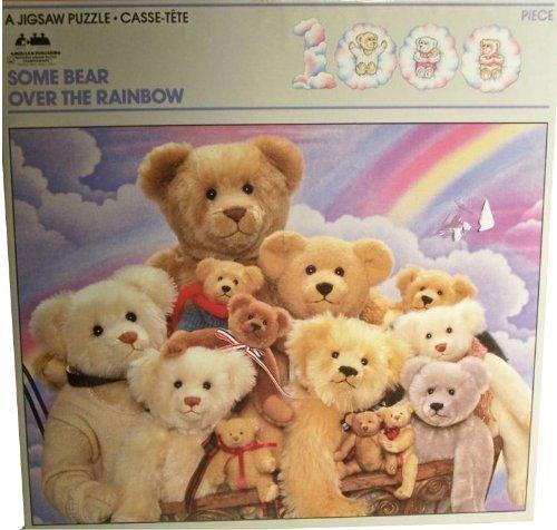 Some Bear Over the Rainbow By Ron Kimball and Roley Bears- 1000 Piece Jigsaw - Jigsaw Teddy