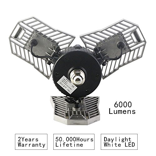 Deformable Lamp, Indoor Light 6000LM, High Intensity
