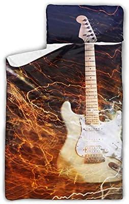 Guitarra eléctrica rodeada de Lightnings1732 Saco de dormir para ...