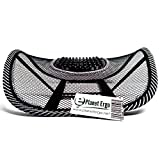 Lumbar Support Black Mesh for Office Chairs Car Lower Back Pain