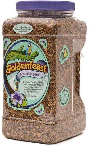 Australian Pet Foods - Goldenfeast Australian Blend Bird Food 64 Ounce