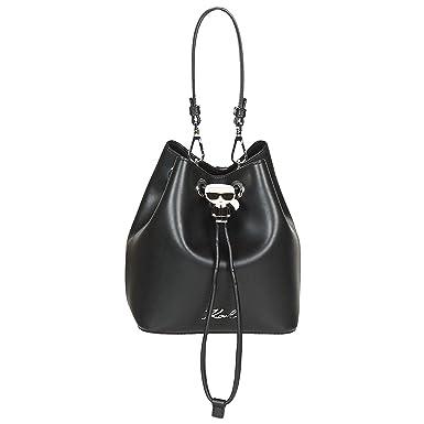 4cbbf427b37ef Karl Lagerfeld K IKONIK Bucket Bag Handtaschen Damen Schwarz -  Einheitsgrösse - Umhängetaschen