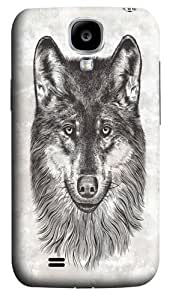 Canis Lupus (Gray Wolf) PC Case Cover for Samsung Galaxy S4 and Samsung Galaxy I9500 3D