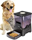 Oxgord Automatic Electronic Timer Programmable Dog Feeder for Large to Small Dogs