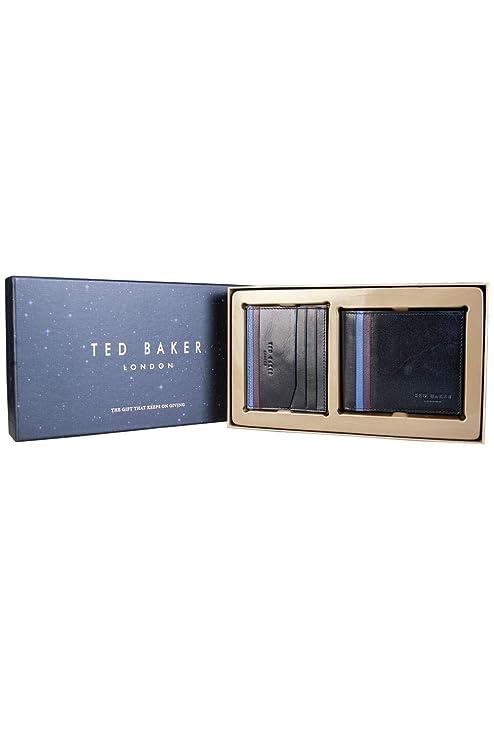 Ted Baker - Cartera para hombre, Negro (Negro) - 90428