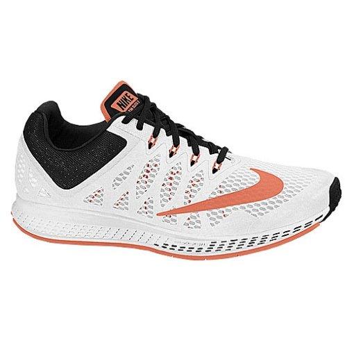 Nike Women's Air Zoom Elite 7 White/Bright Mango/Black Running Shoe 6 Women US