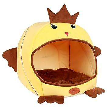 Amazon.com: ZKKWLL camas para gatos, nido para mascotas, de ...