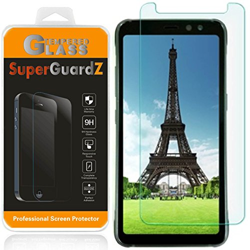 "[2-Pack] Samsung ""Galaxy S8 Active"" [NOT Fit Samsung S8 / S8 Plus] Screen Protector [Tempered Glass], SuperGuardZ, 9H, 0.3mm, 2.5D Round Edge, Anti-Scratch, Anti-Bubble [Lifetime Replacement]"