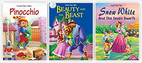 Amazon in: Buy fairy tales story books for kids-Great Fairy Tales