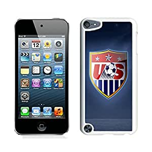 iPod Touch 5 USA Soccer 14 White Screen Cellphone Case Attractive and Custom Design