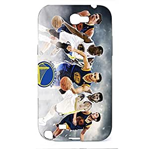 Golden State Warriors Members Playing the Basketball Hard Plastic Case Cover For Samsung Galaxy Note 2 n7100