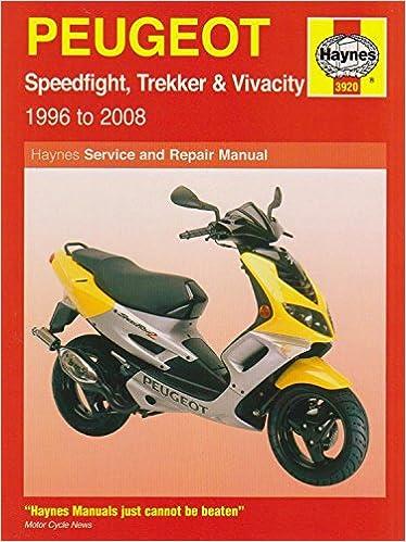 Peugot Speed Flight Scooters, '96-'08 (Haynes Powersport): Haynes