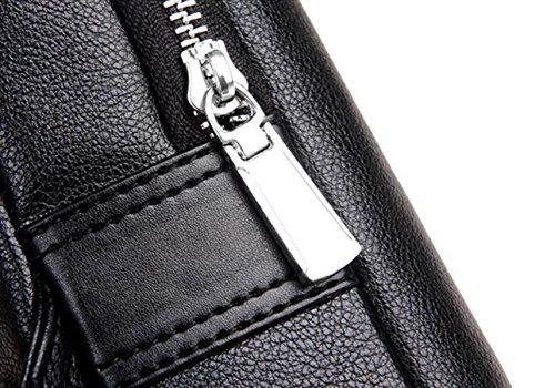 Bolsos Para Hombres Bolsos Para Hombres Bolsa Para Mensajero Bolsa De Trabajo De Automóvil Sutura Tide Hogar Outlet Moda Moda Busto Brown1