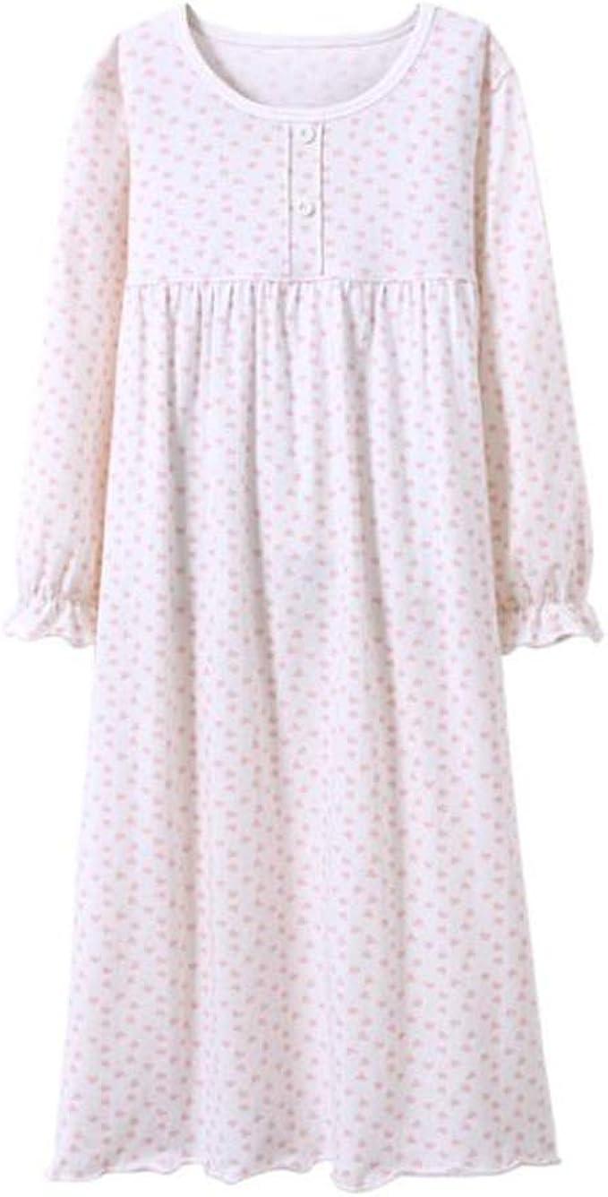 Coralup Camisones de encaje 100% algodón para niñas de 2 a 13 años: Amazon.es: Ropa y accesorios