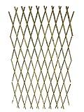Expandable Bamboo Poles Trellis with aluminum rivets, 36''