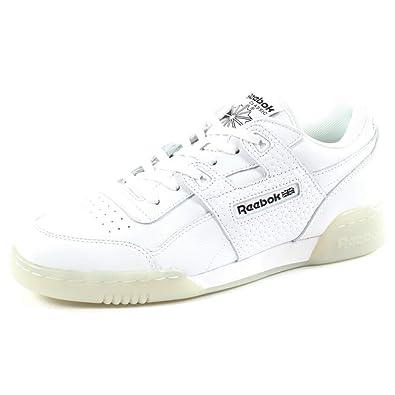 brand new 6737a d021d Reebok Workout Plus Id Herren Sneaker Weiß  Amazon.de  Schuhe   Handtaschen