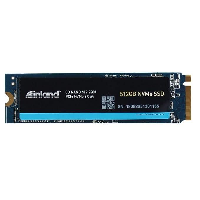 Inland Premium NVME SSD Interno Drive Unidad de Disco óptico ...