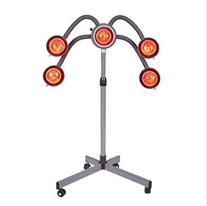 Lámpara de calor por infrarrojos, luz roja, secador de pelo, procesador de color