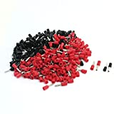 Aexit 16AWG Wire Audio & Video Accessories E1508 Pre Insulate Ferrules Terminals Red Black Connectors & Adapters for 380Pcs