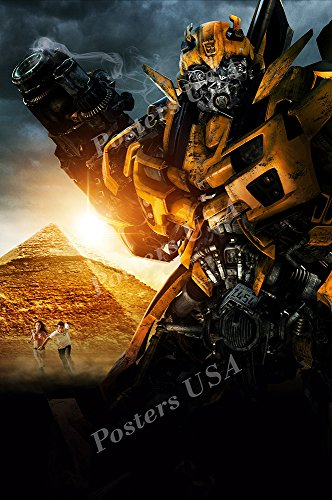 Transformers Bumble Bee Poster - Posters USA - Transformers Revenge of the Fallen Bumble Bee Textless Movie Poster GLOSSY FINISH - MOV840 (24