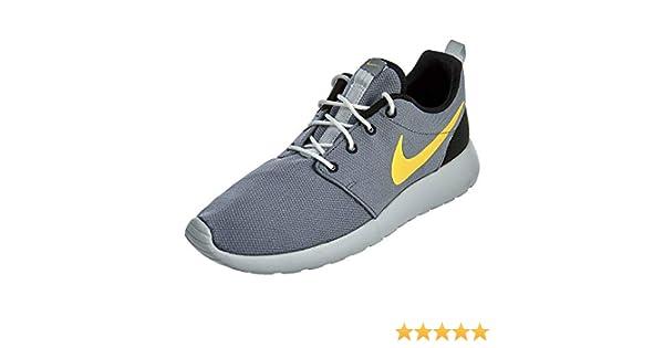 purchase cheap d5f55 98878 Amazon.com   Nike Men s Roshe One Running Shoes, Cool Grey Laser Orange-  Platinum, 10   Road Running