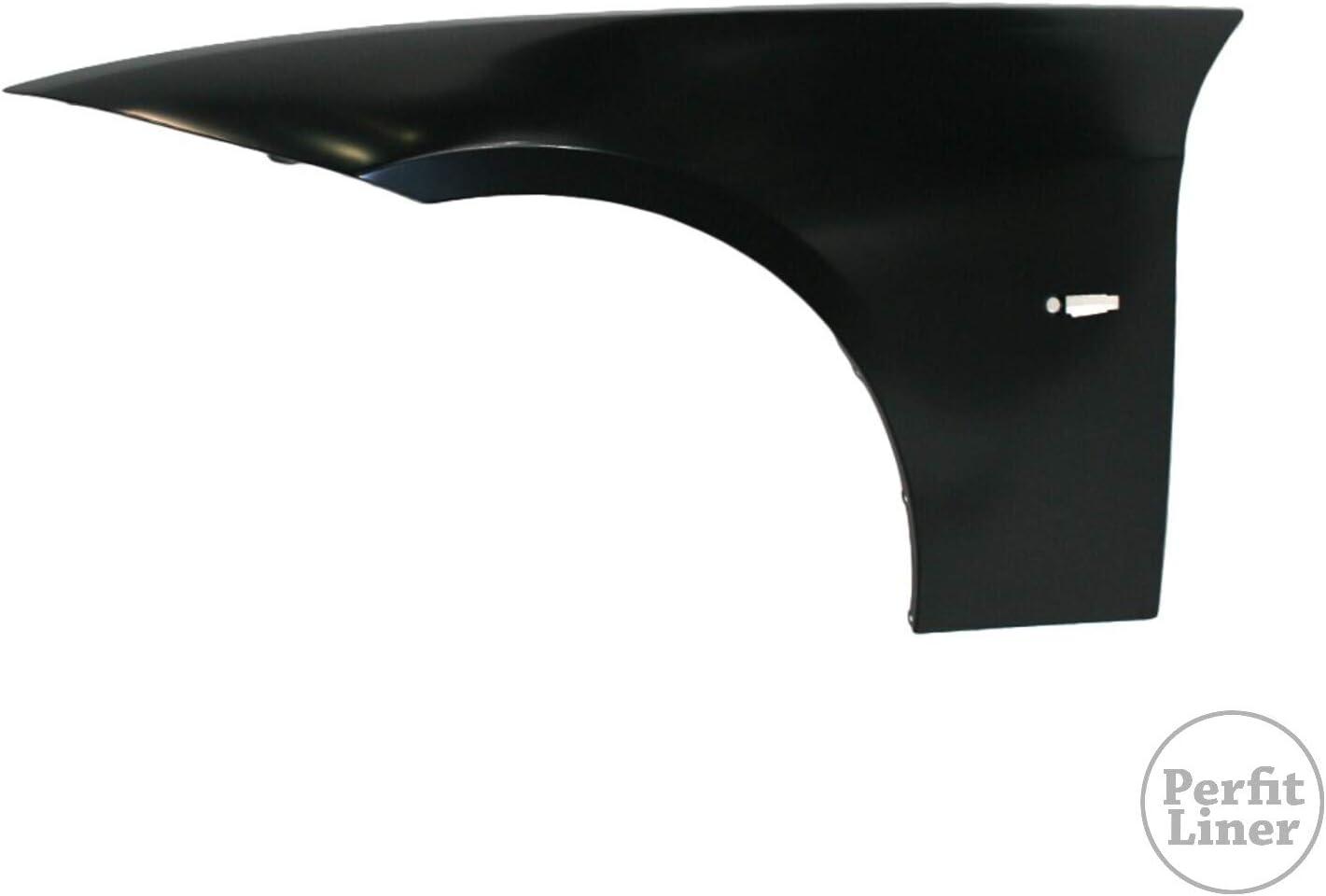 Perfit Liner Front Left Driver Side Fender Assembly 06-11 Compatible With BMW E90 E91 3 Series 4 Door Sedan Wagon 323i 325i 325xi 328i 328xi 330i 330xi 335i xDrive Fits BM1240138 41357135679