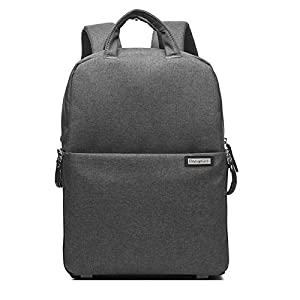 Beaspire Professional Fashion Waterproof Large Size Multifunction DSLR/SLR Travel Outdoor Laptop Bag Durable Camera Backpack for Sony Canon Nikon Olympus Lens Tripod and Accessories(D-Grey)
