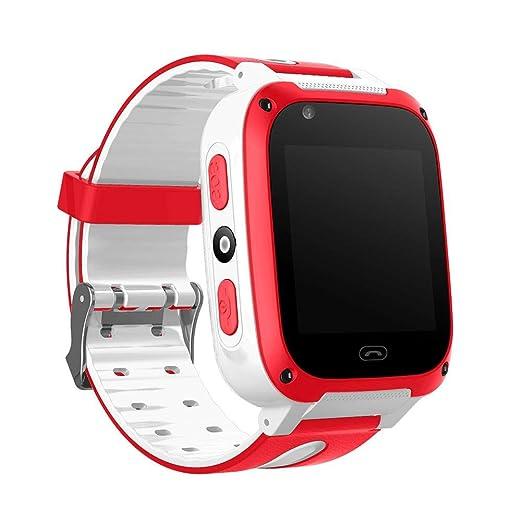 Smartwatch - Reloj inteligente para niños y niñas, con podómetro, monitor de GPS y alarma de voz, reloj de pulsera, cronómetro, cronómetro, reloj ...