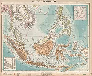 Archipiélago Asiático. Las Indias Orientales Holandesas