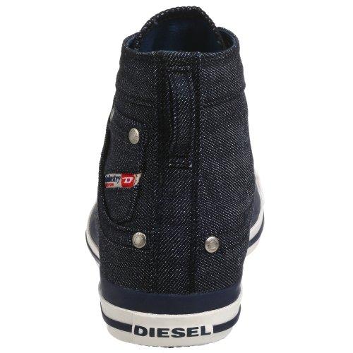 Diesel Mens Exposure Lace-Up, Indigo