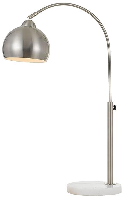 AF Lighting 9118 TL Brushed Nickel Orb Table Lamp With Metal Globe