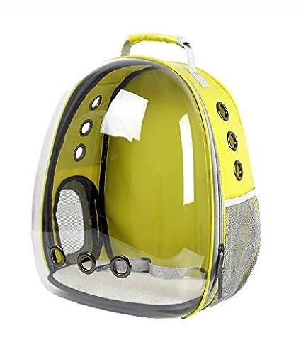 Cutepet Transportín Portador para Mascotas Perros Gatos Pequeños Mochila para Llevar Perros Bolso De Transporte para
