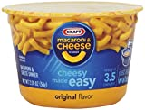 Kraft Easy Mac Cups, Macaroni and Cheese Dinner, 2.05 Ounce (Pack of 6)
