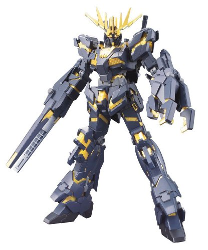 Bandai 1/144 High Grade Univeral Century #134 Unicorn Gundam 02 Banshee (Destroy Mode) (Shining Gundam Model compare prices)